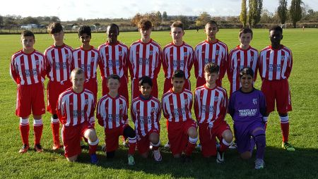 Sandgate Football Club Under 16's Colts squad