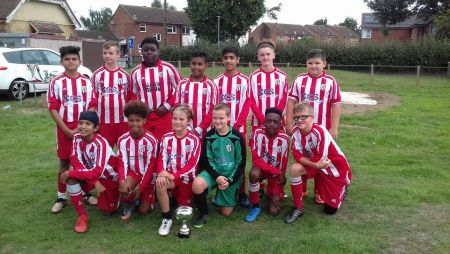 Sandgate Football Club Under 14's Colts squad