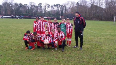 Sandgate Football Club Under 12's Colts squad