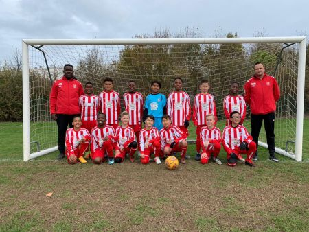 Sandgate Football Club Under 11's Colts squad